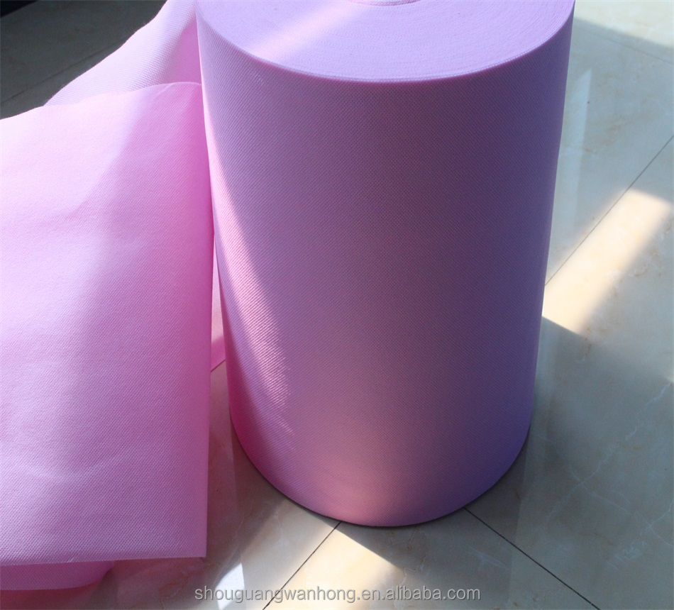Home Textile,Car,Shoes Use and Embossed Pattern spunlace nonwoven fabric for synthetic leather
