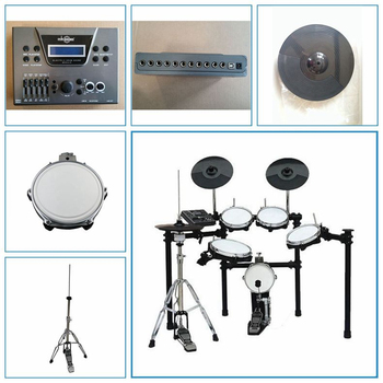 mesh snare head digital drum set , free shipping electric drum kit , electronic drum set