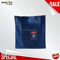 Customized high quality cheapest price pocket tote bag foldable new fancy travel lite pp non woven bag