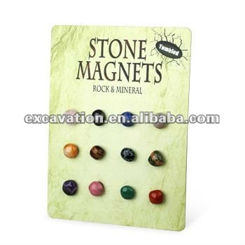Nature tumbled stone Fridge Magnets