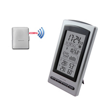 High quality large display household wireless sensor thermo-hygrometer