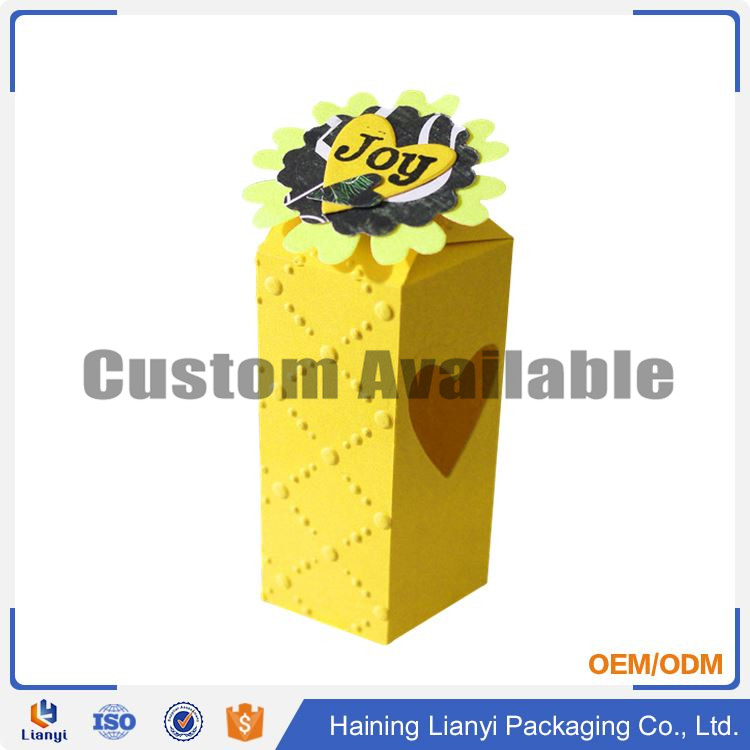 OEM cardboard soft inset small gift perfume box packaging
