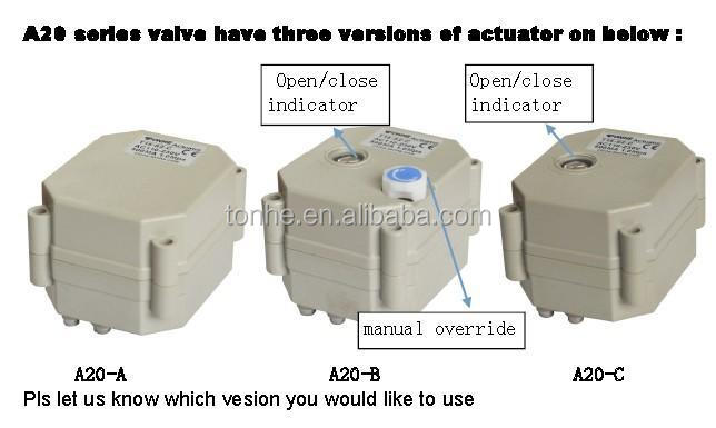 4N.M electric actuator for motor ball valve