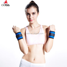 waterproof GYM training wrist support weight lifting crossfit wrist wraps brace