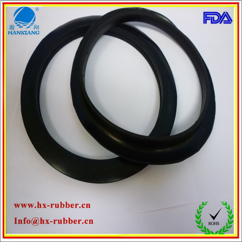 waterproof,anti-shock,anti-slip,wearable Flat food-grade silicone Rubber Gasket