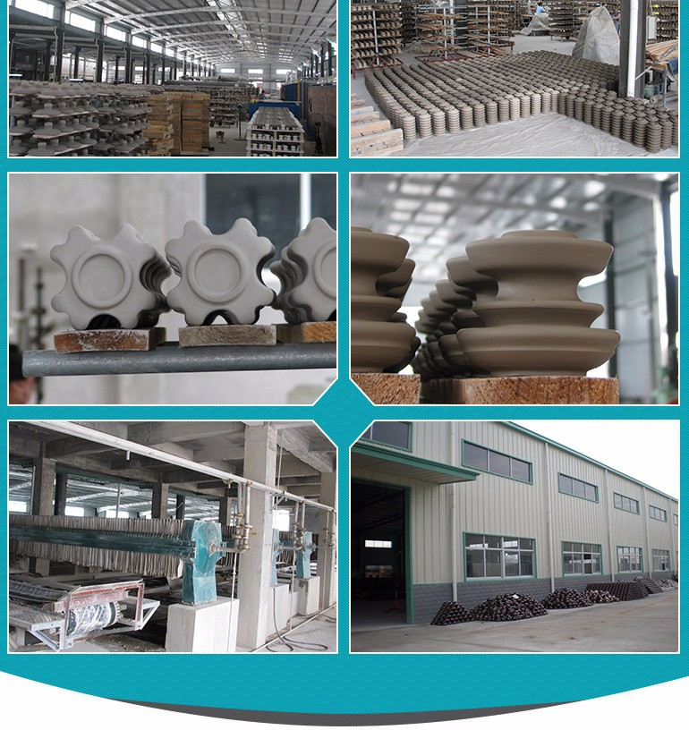 U70/U100/U160/U210 Anti Fog Porcelain Disc Insulator