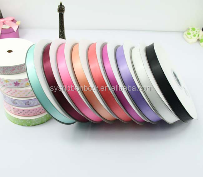 2016 sale Good quality double side satin ribbon
