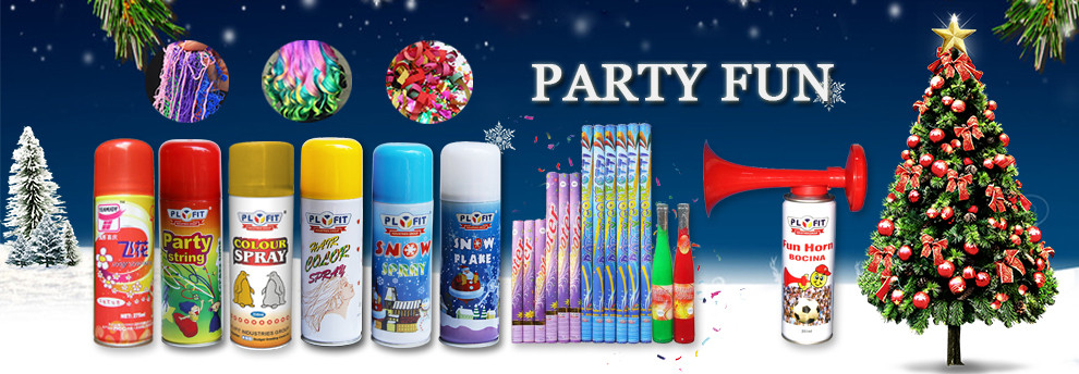 Christmas Colorful Flying Flower Pieces Spray