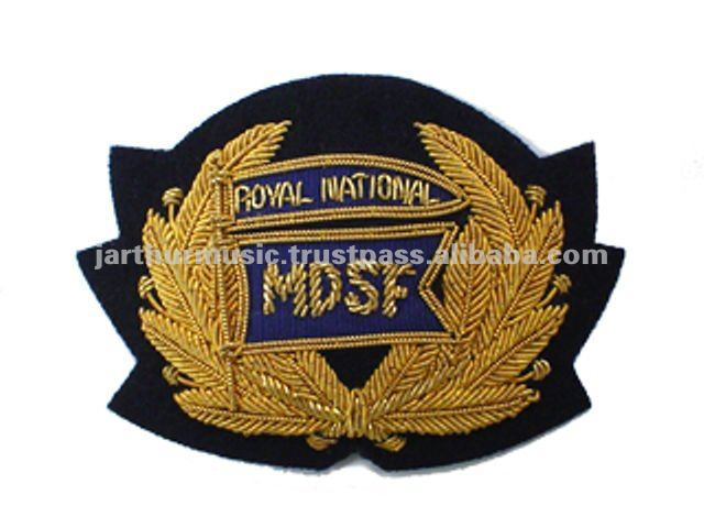 R.NAT Mission Deep Sea Cap Badge