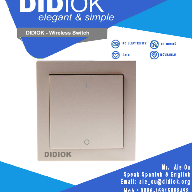 Home Automation Light Switches of Remote Control Domotic B20 Home Automation System