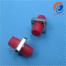 Red waterproof FC to FC fiber optical adapter FC connector