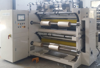 film slitting machine for PVC PET BOPP automatic CD-G circle knife