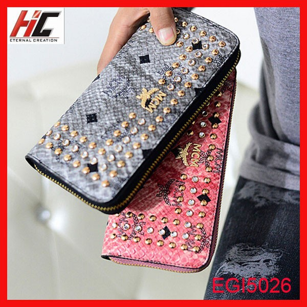 Top sale new snake skin <strong>wallet</strong> for women with coin sorter pocket long fashion lady phone case purse