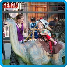 Interesting children's dinosaur amusement park rides
