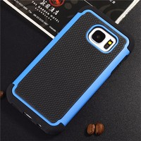 Shockproof rubber mobile cover case for samsung galaxy s7