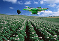 Professional design 1200mm four arm agriculture spray UAV drone frame