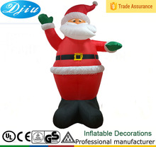 Light Up Christmas WAVING and DANCING SANTA CLAUS Outdoor Inflatable Garden Decoration