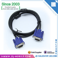 Free sample 15pm - 15pm male vga to male vga cable gold-plated vga cable