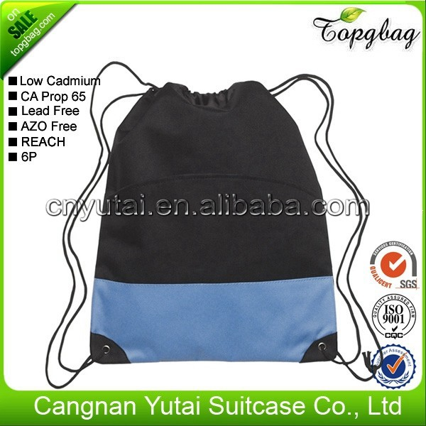 Super quality hot selling classical thin drawstring bag