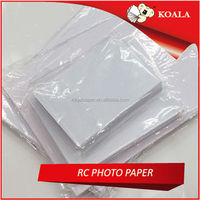 Factory supply 240gsm 260gsm RC glossy inkjet photo paper for large format printer 0.61m*30m