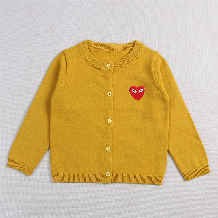 Heart Pattern Wholesale Price Boy Girl Sweater Kids Baby Sweater Design