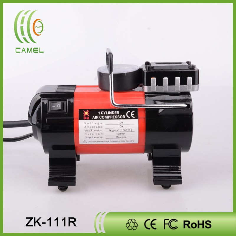 DC/AC 12v car silent air compressor mini air pump dc