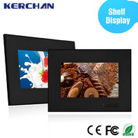 7 inch enclosed frame table stand /wall mount 12v usb video player