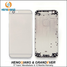 High quality battery cover for iphone 6 back cover housing replacement