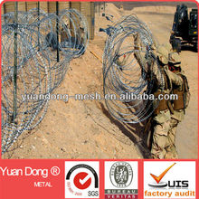 Razor blade wire / military concertina razor barb wire