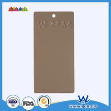 WA5640 indoor high gloss camel grey decorative coating surface coating powder