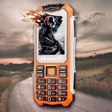 Cheap China Brand feature phone VKWORLD STONE V3S 2.4 Inch TFT 2G GSM 2200mAh dual sim card Bar Mobile Phone 2017 New Models