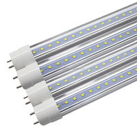 High Efficiency Plastic LED Tube Lighting Bulbs T8 G13 Base 18W 1980Lm Warm White/Daylight/Cold White