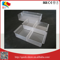 customized portable special storage acrylic box