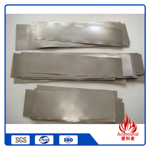 China wholesale pure tungsten foils/sheets/plate/round discs
