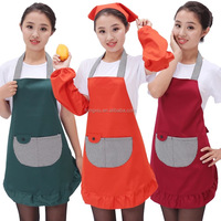 recycle cheap wholesale custom a promotion apron reuseable garden kids adults non woven cotton apron,cooking apron,kitchen apron