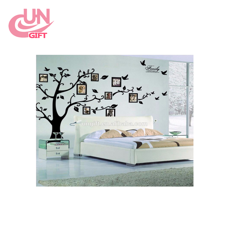 The explosion of decorative painting creative photo stickers PVC wall mural waterproof wall stickers factory wholesale