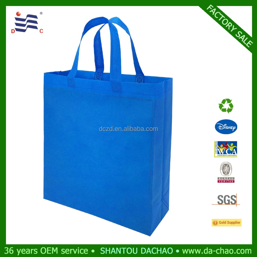 Reusable heat seal ultrasonic pp non woven shopping bag