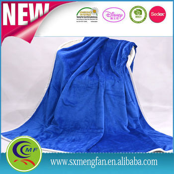 2016 new developed softtextile fleece blanket