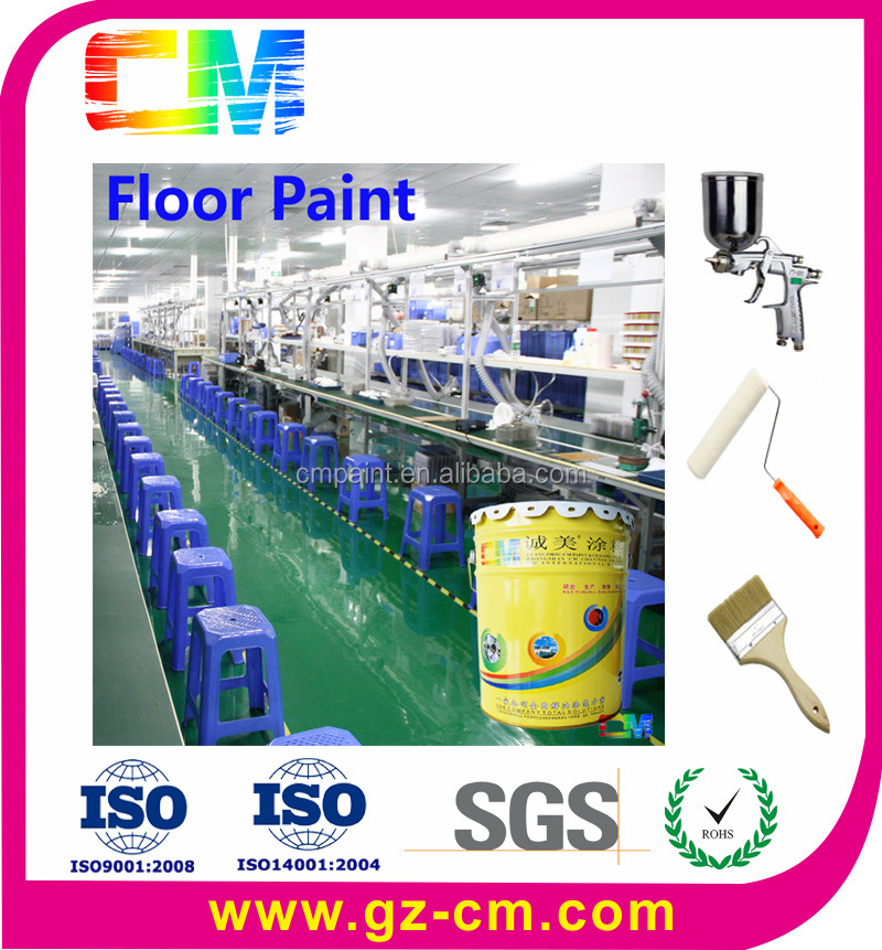 Waterproof floor coating for electronics factory anti-static acrylic floor paint