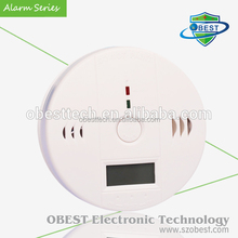 CO Detector Alarm with Battery Power