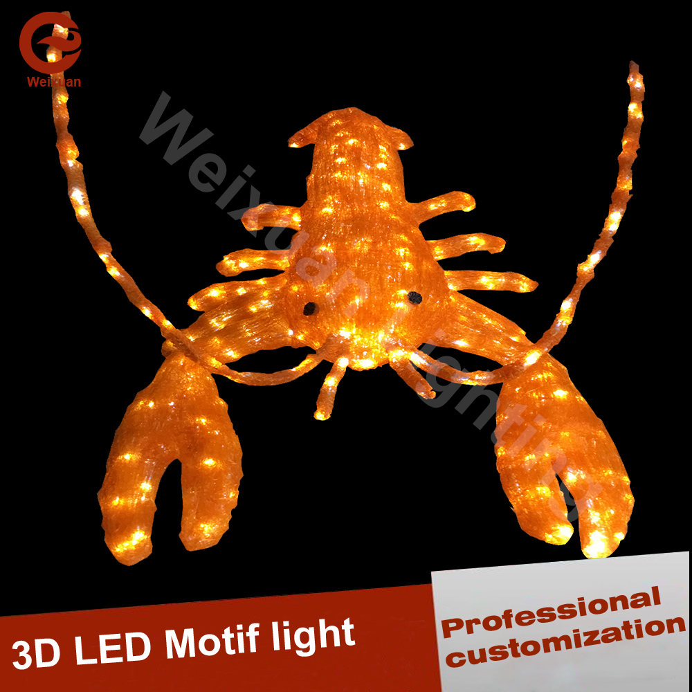 LED 3D giraffe lights Waterproof for halloween decoration lights and april fools day decorating
