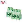 PCB plastic speaker terminal block connector 6.35mm pitch vertical 3POLE 4POLE block terminal WJ635-6.35