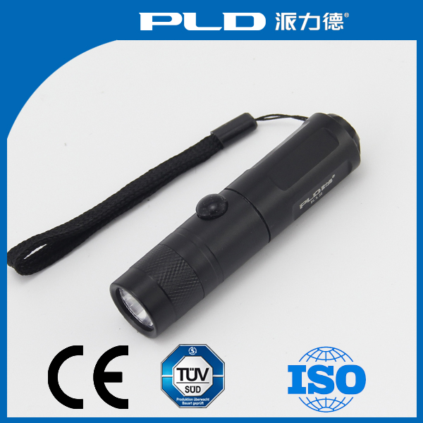 Personalized AA battery type aluminum alloy mini flashlight