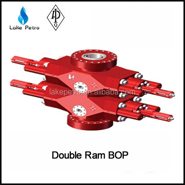 High Quality API Manual And Hydraulic Single/Double Pipe/shear ram BOP