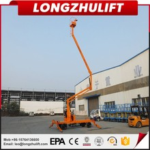 Factory sell aerial work platform hydraulic self propelled articulating boom lift