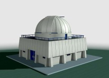 3D Astronomical observatory /constrution scale model making