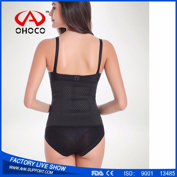 New products Sexy Corset Slimming Suit, Thermal Braless Body Shaper,Latex Rubber Waist Trainer Cincher Underbust Corse