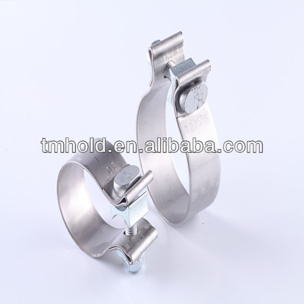 Auto Accuseal Exhaust pipe clamp Chemical equipment