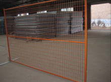 PVC coated Chain link fence and gate made of chain link mesh hot sale
