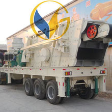 SGS approved competive price stationary type and mobile type stone crushing plant